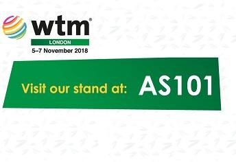Meet us at WTM London 2018